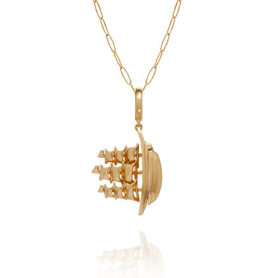 18ct Gold The Ship Song Necklace