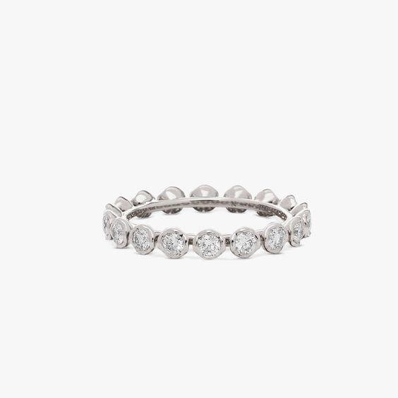 Marguerite 18ct White Gold Diamond Eternity Ring | Annoushka jewelley