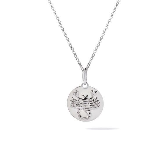 Mythology 18ct White Gold Scorpio Necklace   Annoushka jewelley