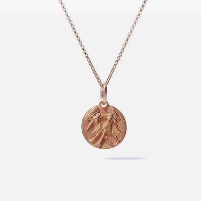 Mythology 18ct Rose Gold Gemini Necklace
