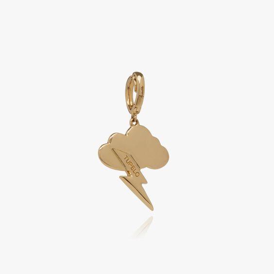 "18ct Gold Diamond ""Tupelo"" Charm | Annoushka jewelley"