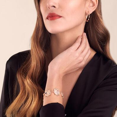 Dream Catcher 18ct Rose Gold Pearl Bracelet