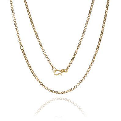 18ct Gold Belcher Long Chain