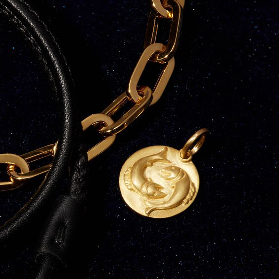 Mythology 18ct Gold Pisces Pendant | Annoushka jewelley