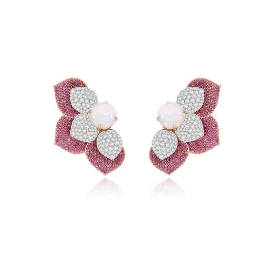 Sutra Sapphire & Diamond Earrings | Annoushka jewelley
