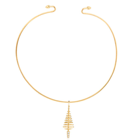 Garden Party 18ct Gold Diamond Choker Necklace | Annoushka jewelley