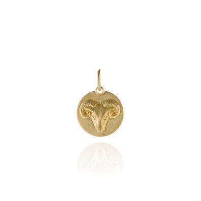 Mythology 18ct Gold Aries Pendant