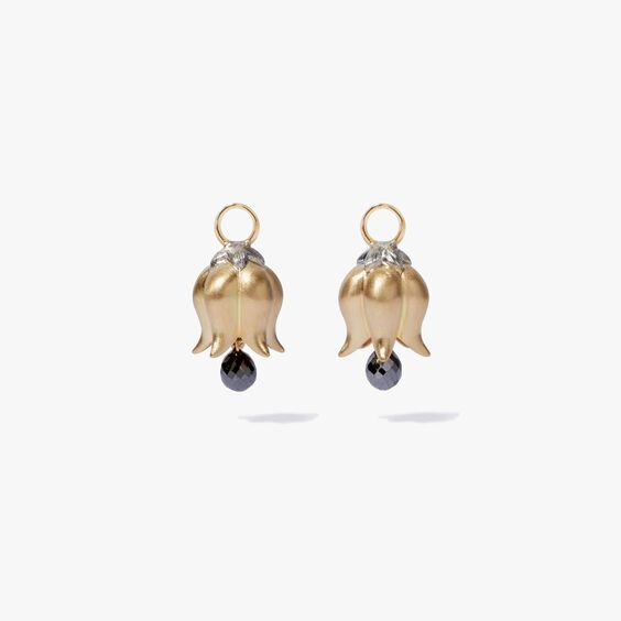 18ct Gold Tulip Diamond Earring Drops | Annoushka jewelley