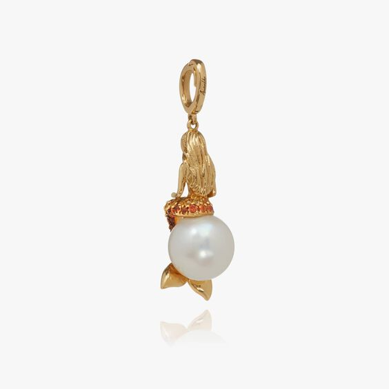 "18ct Gold Sapphire ""Mermaids"" Charm | Annoushka jewelley"