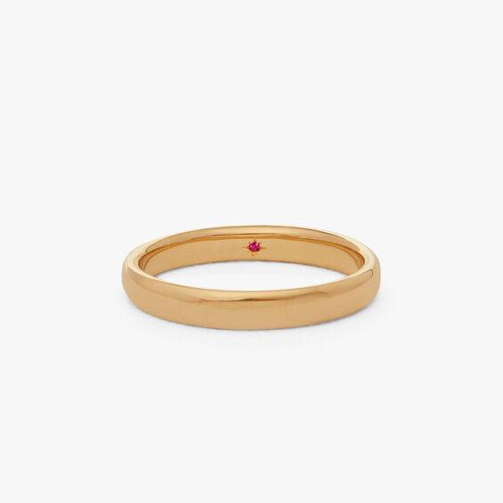 18ct Gold 3mm Wedding Band | Annoushka jewelley