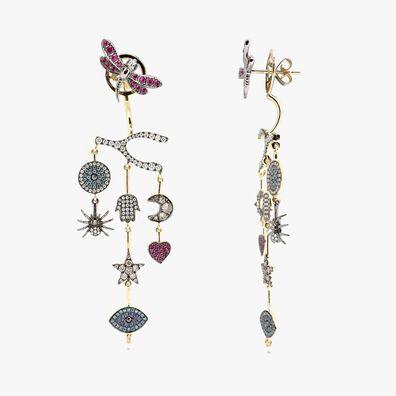 Love Diamonds 18ct Yellow Gold Chandelier Earrings
