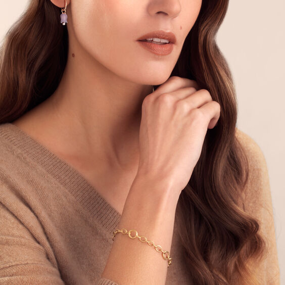 Mythology 18ct Gold Diamond Charm Bracelet | Annoushka jewelley