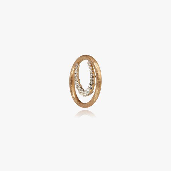 18ct Gold Diamond Horseshoe Hoopla   Annoushka jewelley