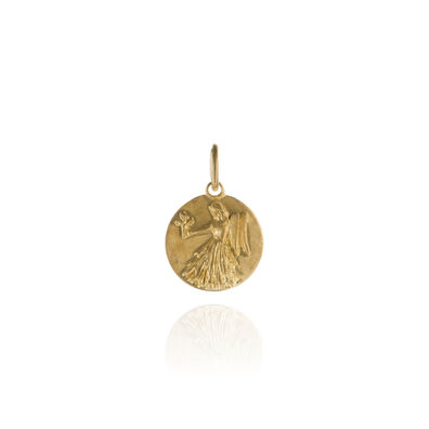 Mythology 18ct Gold Virgo Pendant