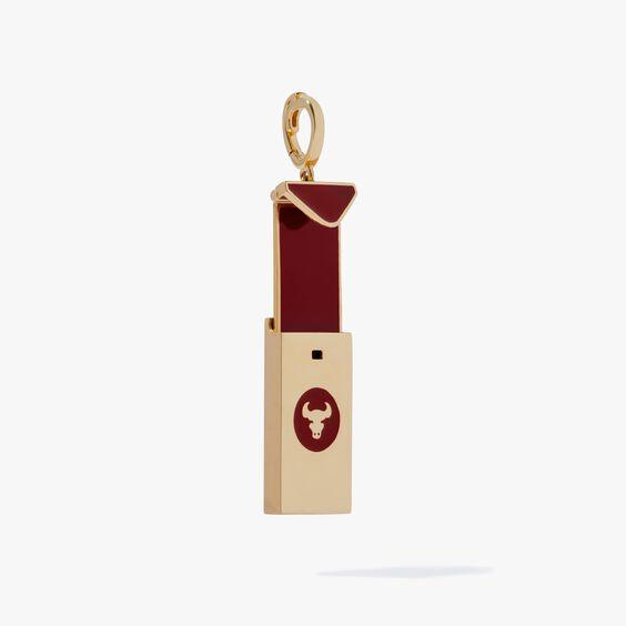 Mythology 18ct Gold Red Envelope Ox Charm   Annoushka jewelley