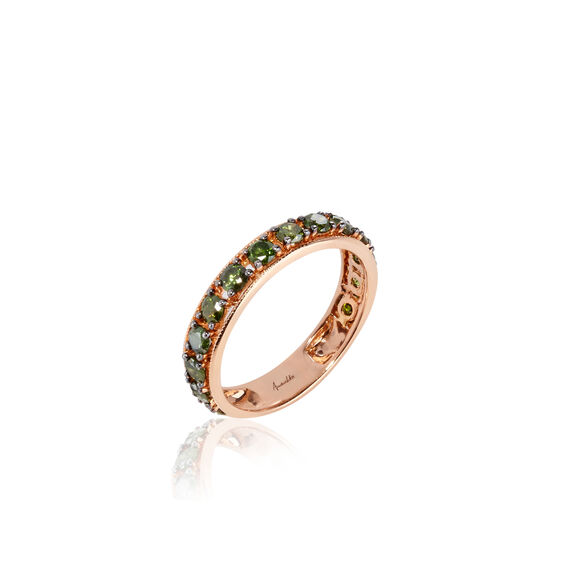 Dusty Diamonds 18ct Rose Gold Eternity Ring | Annoushka jewelley