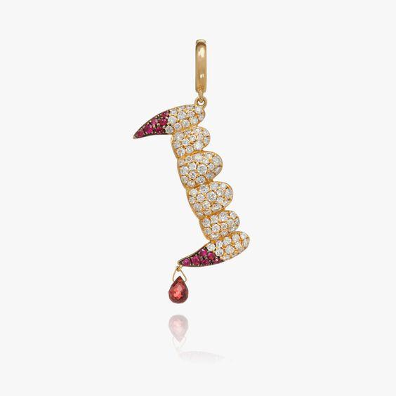 "18ct Gold Diamond ""Release The Bats"" Charm | Annoushka jewelley"