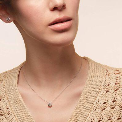 Marguerite 18ct White Gold Diamond Necklace