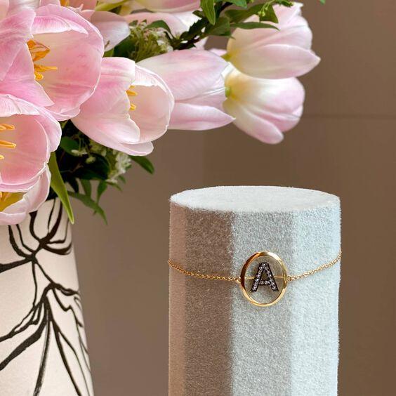 Initial Bracelet x Tulip's Bucket | Annoushka jewelley
