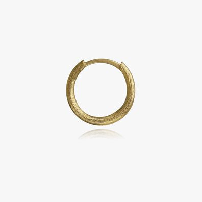 18ct Gold Small Hoop Earring