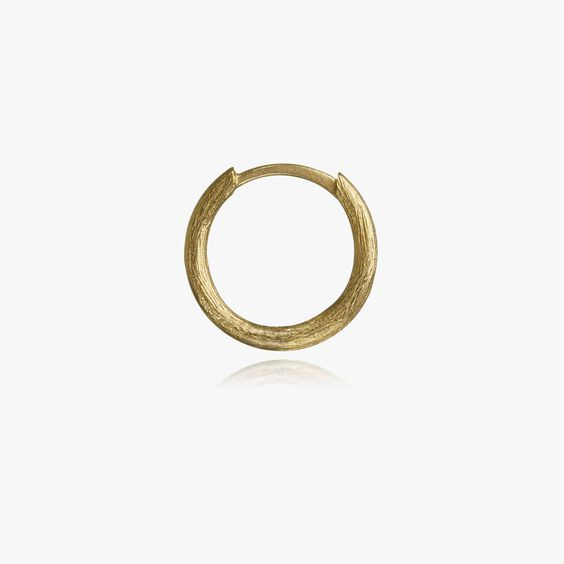 18ct Gold Small Hoop Earring | Annoushka jewelley