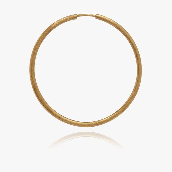 18ct Gold Medium Hoop Earring   Annoushka jewelley