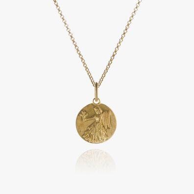 Mythology 18ct Gold Virgo Necklace