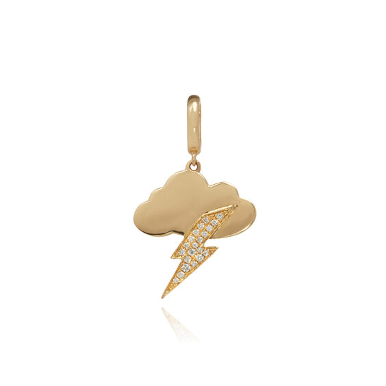 "18ct Gold Diamond ""Tupelo"" Charm 