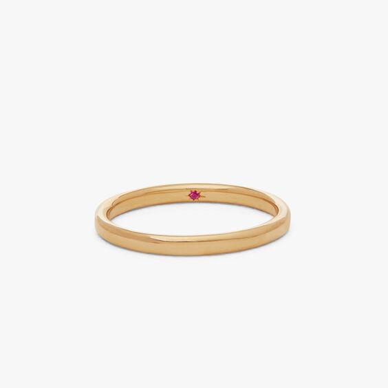 18ct Gold 2mm Wedding Band | Annoushka jewelley