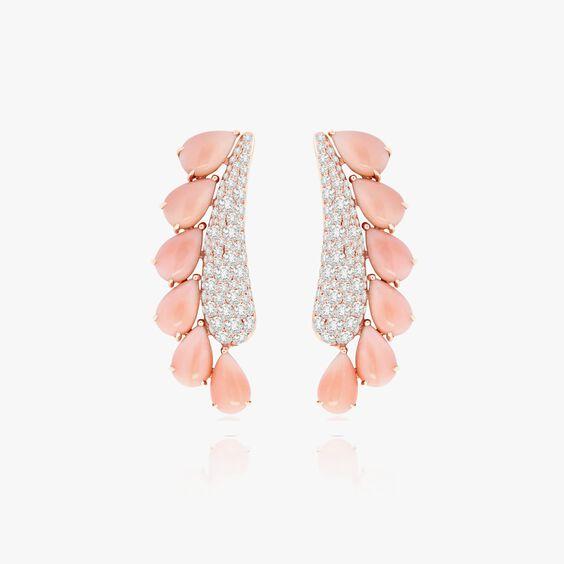 Sutra Coral & Diamond Earrings   Annoushka jewelley