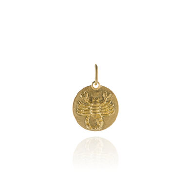 Mythology 18ct Gold Scorpio Pendant