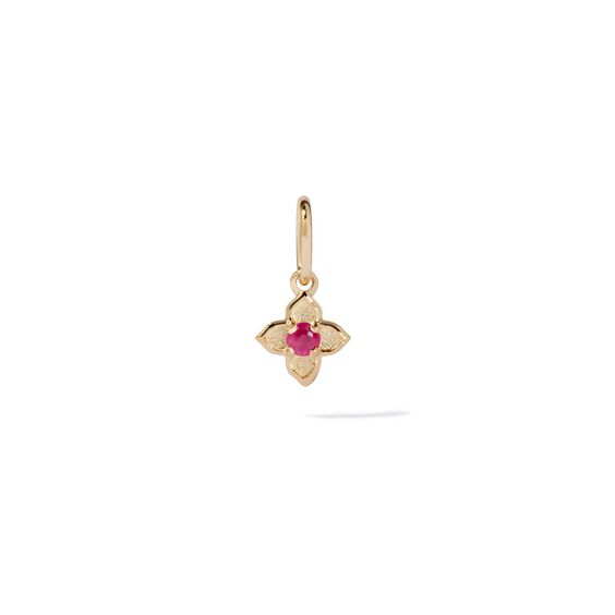 Tokens 14ct Gold Ruby Pendant | Annoushka jewelley