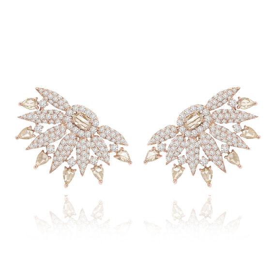 Sutra Diamond Fan Earrings | Annoushka jewelley