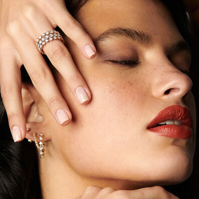 Marguerite 18ct Rose Gold Diamond Eternity Ring