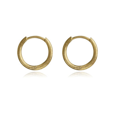 18ct Gold Small Hoop Earrings