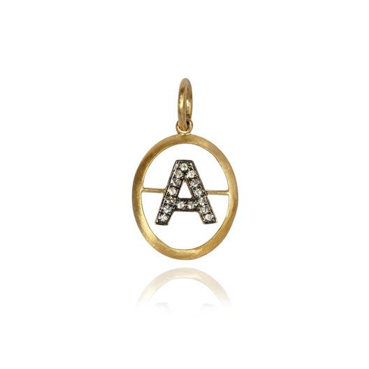 Annoushka initial pendant