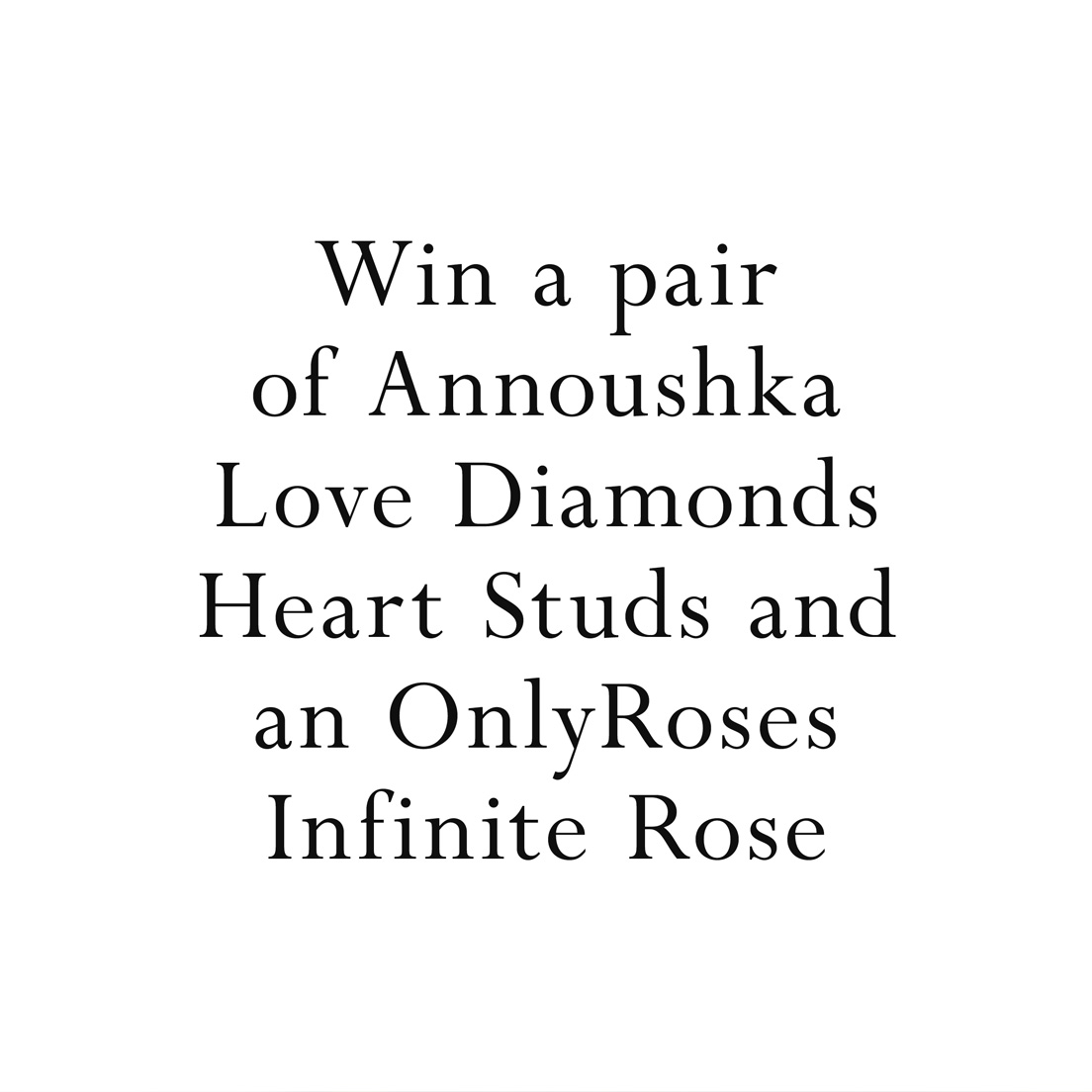 Annoushka Competition